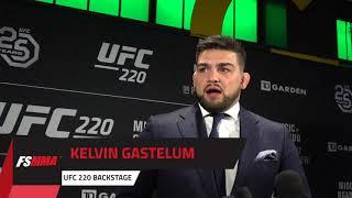 UFC 220 Backstage: Kelvin Gastelum