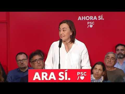 Silvia Paneque a l'Acte de municipalisme a Sant Joan Despí (3/11/2019)