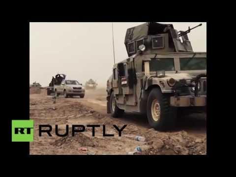 Iraq: Army battle Islamic State at University of Anbar