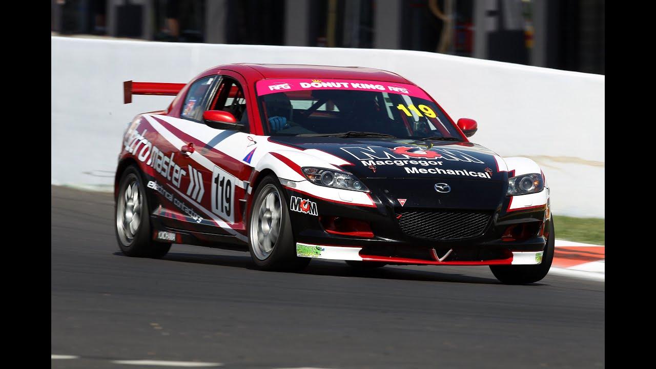 Mazda RX8 Race Car - YouTube