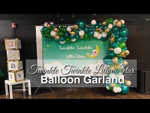 Organic Balloon Garland Tutorial | No Fishing Line Used | DIY With KI