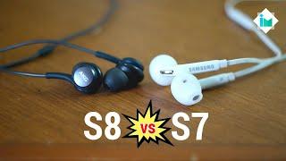 Audífonos Galaxy S8 vs Galaxy S7 (AKG vs Samsung)
