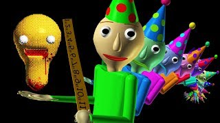Baldi's Basics 1 Year Birthday Bash