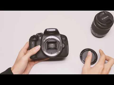 Mở hộp và trên tay Canon EOS 700D kèm lens kit 18-55 mm chính hãng