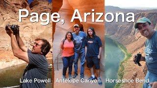 Page Arizona: Lake Powell, Antelope Canyon, and the Horseshoe Bend (Four Corners Day 5)   Traveling