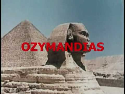 OZYMANDIAS by Percy Bysshe Shelley - YouTube