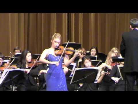 Chloé Trevor - Prokofiev Violin Concerto No. 2 in G Minor I. Allegro moderato