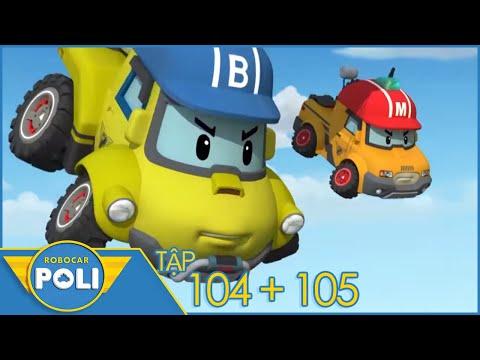 Robocar POLI - POLI Và Các Bạn 2 Tập (104+105): Đội Xe Cứu Hộ | Phim Hoạt Hình Hay Đặc Sắc