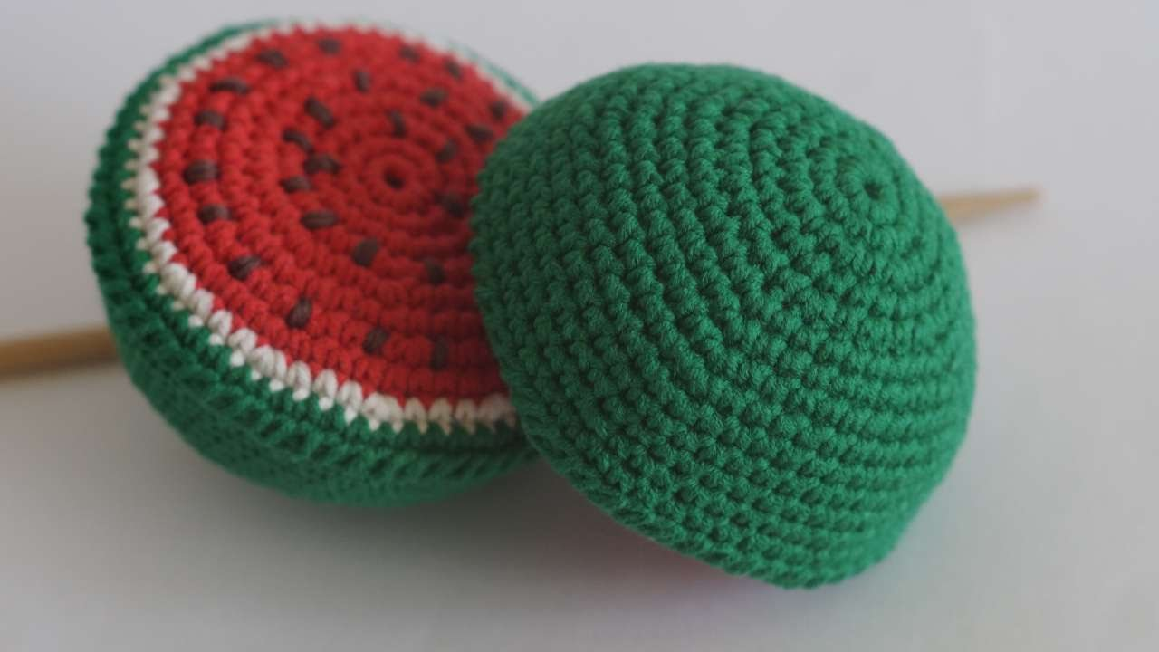 How To Make Crocheted Children's Toy Watermelon - DIY Crafts Tutorial -  Guidecentral