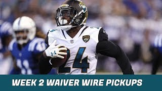 2018 Fantasy Football: Week 2 Waiver Wire Pickups