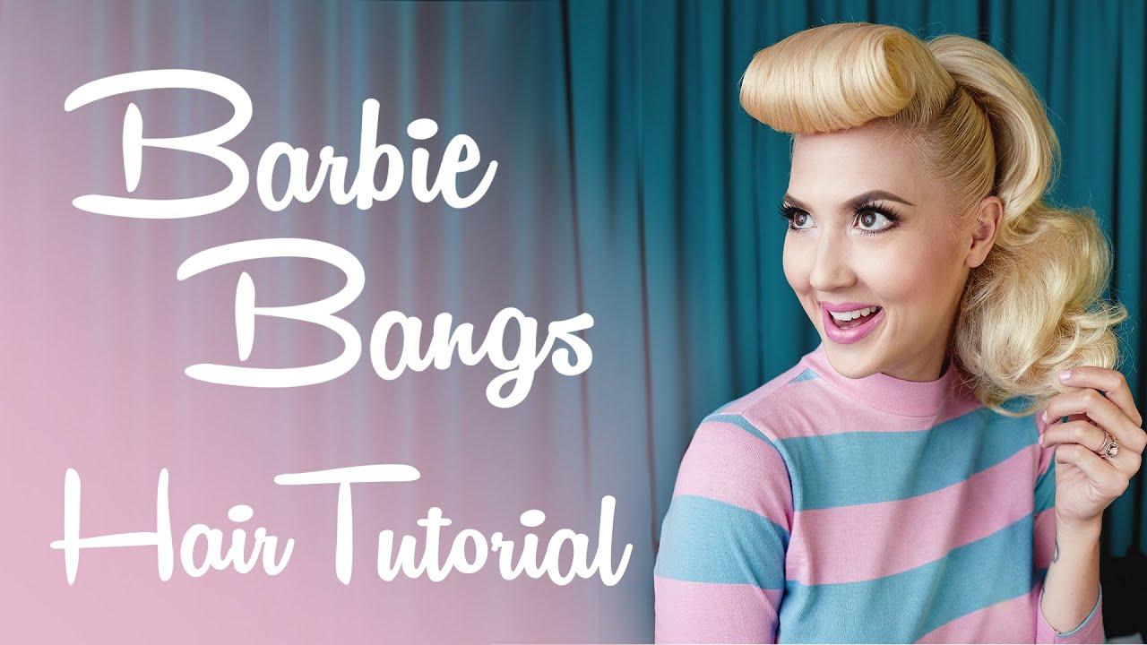 Barbie Bangs Tutorial