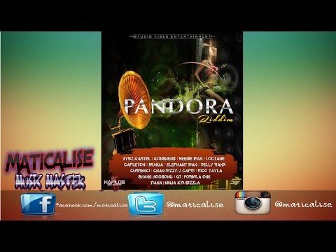 Pandora Riddim Mix {Studio Vibes Ent} [Dancehall] @Maticalise