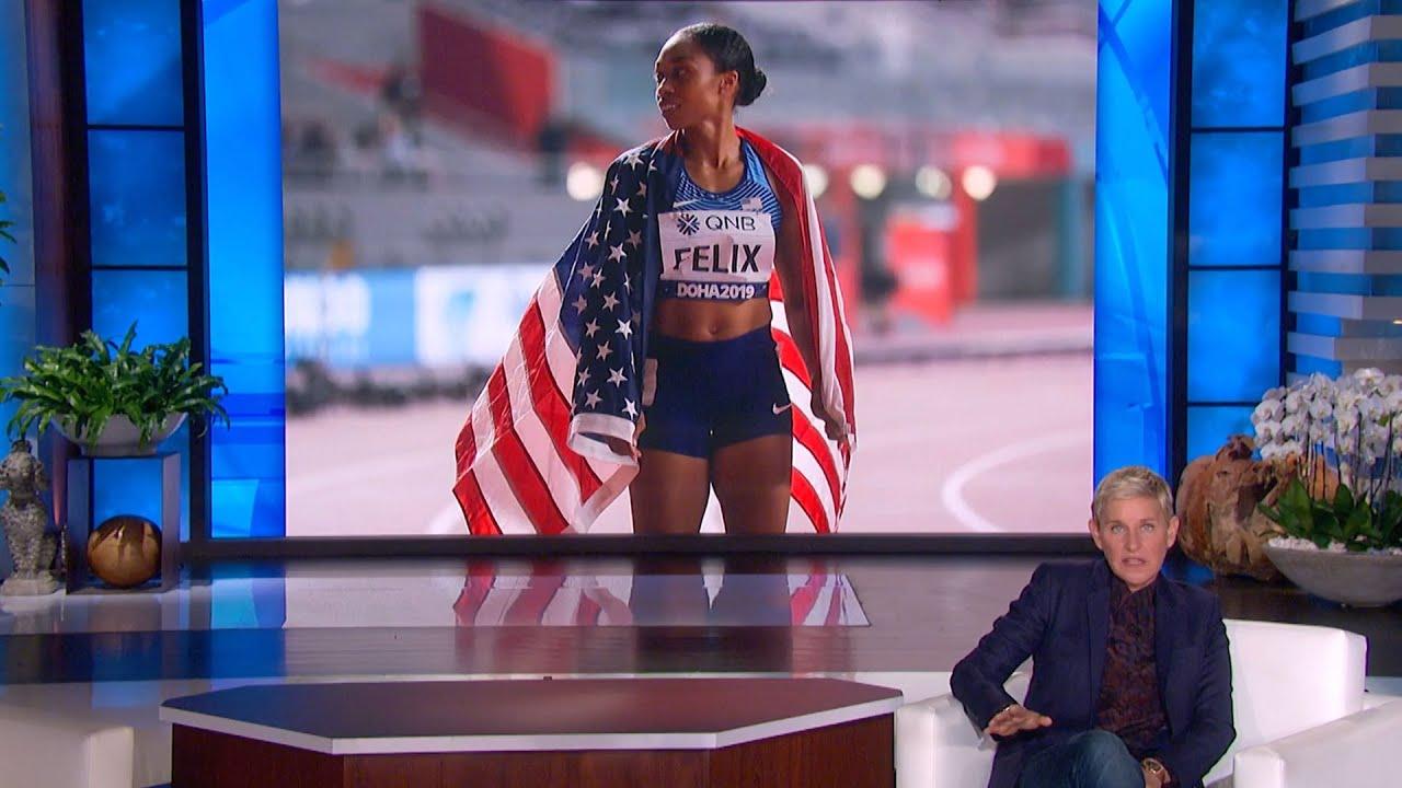 Olympian Allyson Felix Is a Gold Medalist Mom