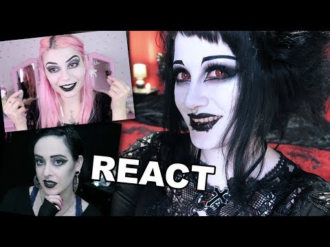 Reacting to People Trying my Makeup Tutorials | Black Friday