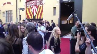 Party a Casa di Lapo Elkann: il red carpet con Franca Sozzani e Bianca Brandolini D'Adda