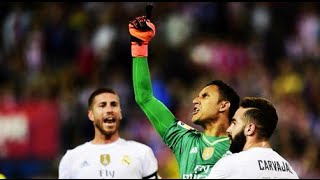 Keylor Navas para penalti vs Atletico Madrid | 04/10/2015 | COPE