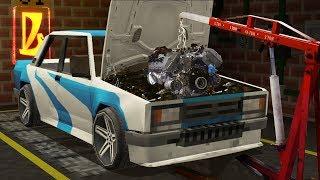 Поставили Новый Двигатель На Жигули Вместе С Механиком | Восстановление Жигулей