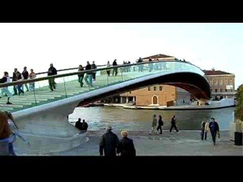 VENEZIA: ECCO IL NUOVO PONTE DELLA COSTITUZIONE