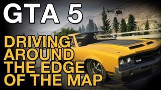 GTA 5: Driving Around the Edge of the Map - Let's Play - VideoGamer
