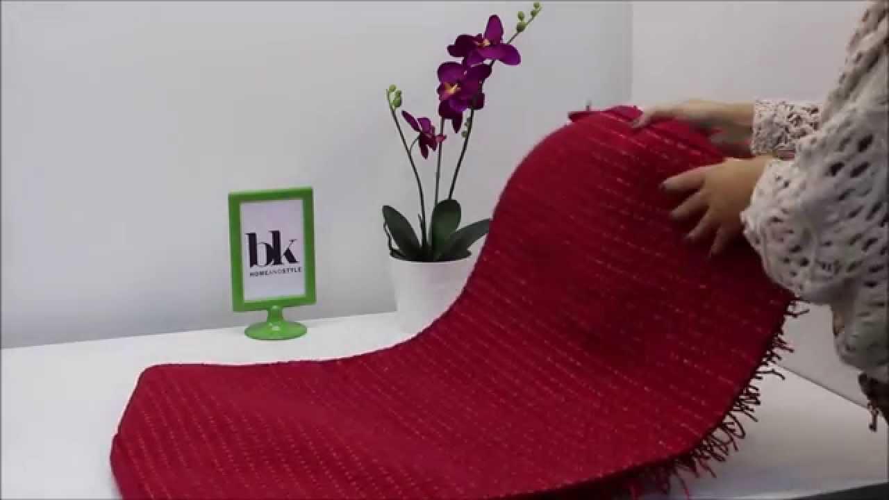 Alfombra para ba o y dormitorios roche roja youtube - Alfombras de bano ...