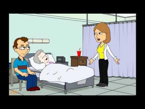 Palliative Care: Doctor talks to Relative