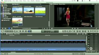 How to do a crossfade in Final Cut Pro X