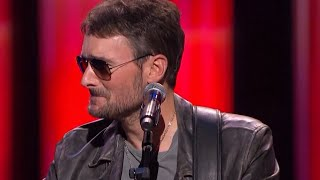 Eric Church Breaks Down In Tears At Tribute for Las Vegas Shooting Victims