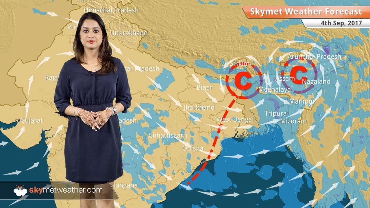 Weather Forecast for Sep 4: Good rain in Assam, Northeast