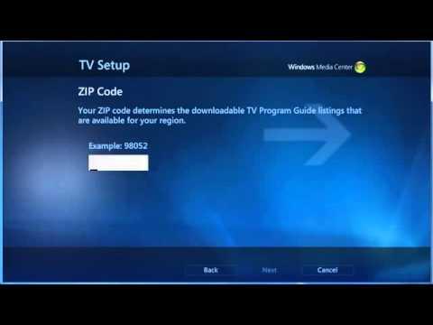 Record Live TV With Windows Media Center   Windows 7