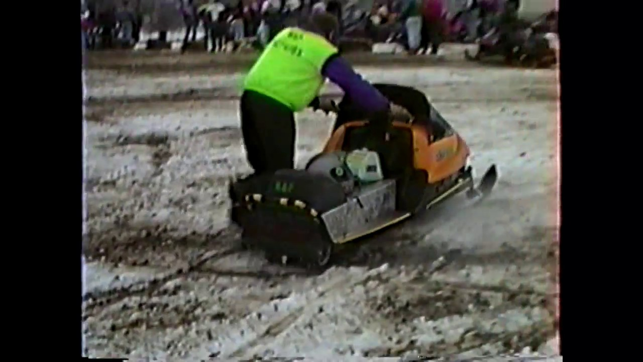 WGOH - Snow-Mobile Drag Races in Ellenburg  12-15-96