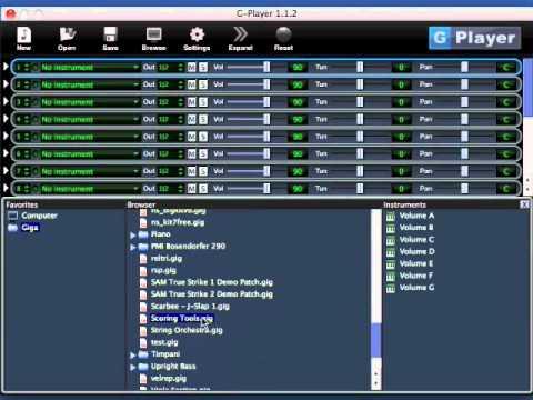 SoundLib G Player v1 2 1