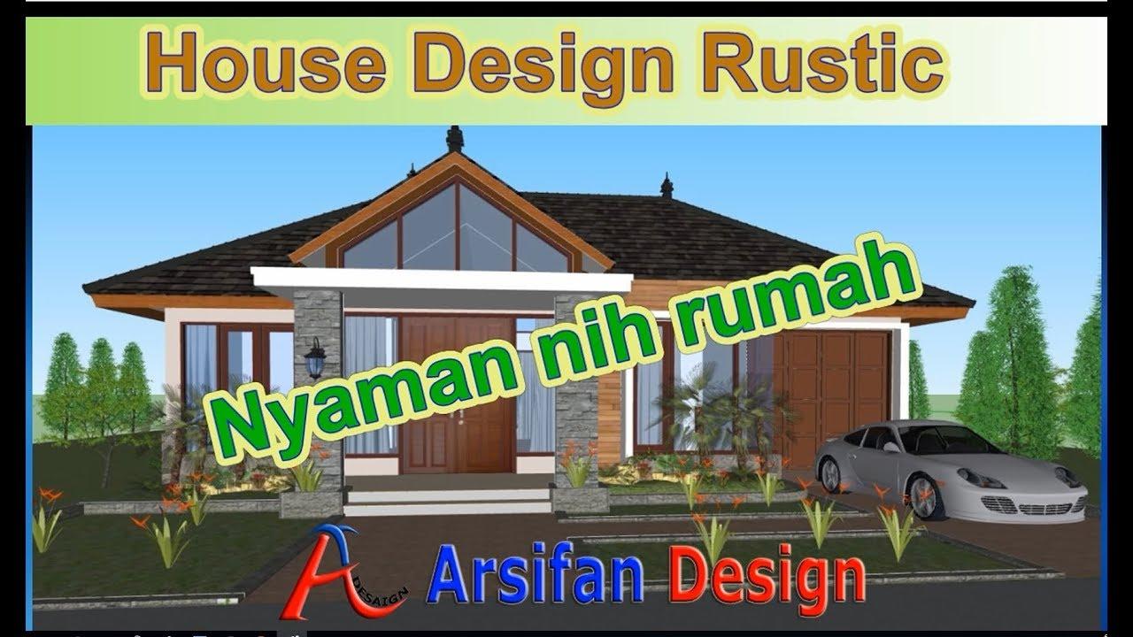 44 Konsep Rumah Rustic Terbaru