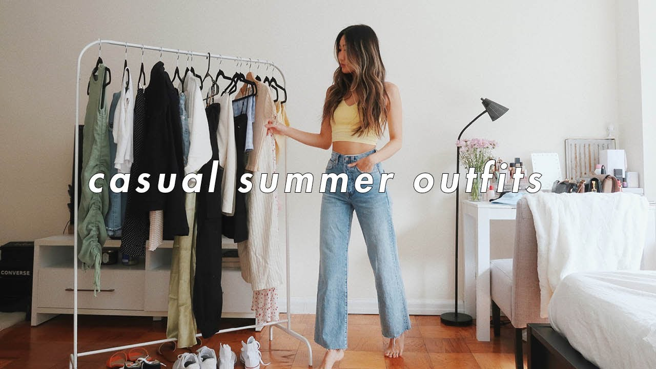 CASUAL SUMMER OUTFITS ?   summer lookbook 2020
