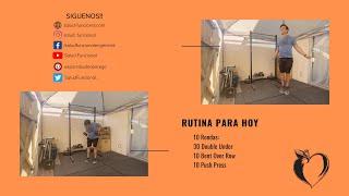 Rutina de Hoy - 11/17/2020