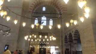 Мечеть Сулеймание в Стамбуле(Мечеть сооружена по приказу Султана Сулеймана Законодателя архитектором Синаном в 1550—1557 годах. Высота..., 2013-11-23T16:20:01.000Z)