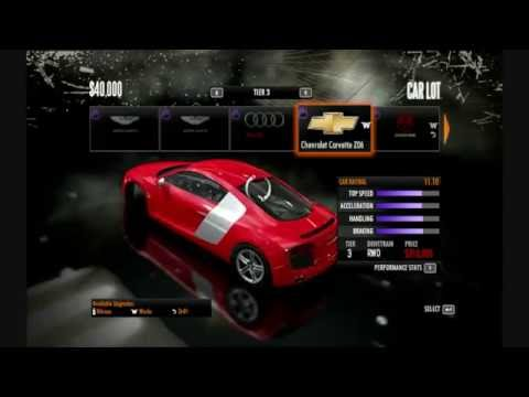 Need for speed shift full car list HD for pc (best quality)