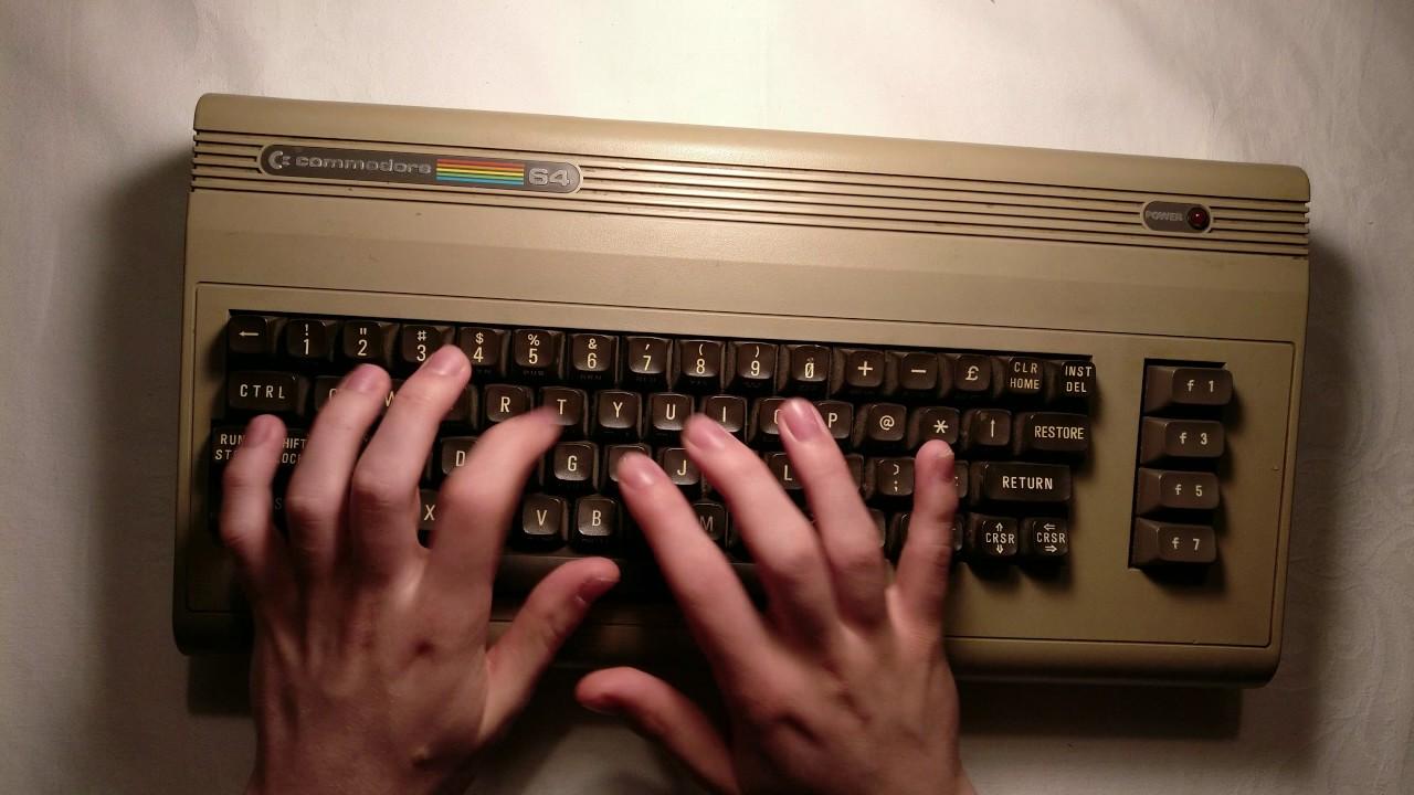COMMODORE 64 Typing (Mechanical Keyboard | ASMR)