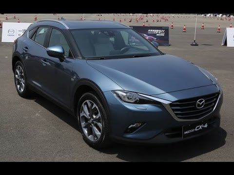 2017 mazda cx-4 crossover | review - youtube