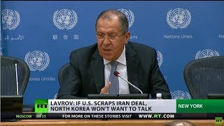 Iran nuclear deal collapse could spell grave consequences for the Korean peninsula – Lavrov