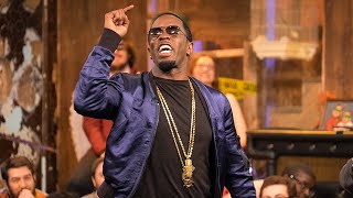 """Zach Galifianakis Fights Sean """"Diddy"""" Combs on the Phone 