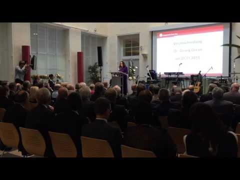 Rede von BMin Andrea Nahles zur Verabschiedung von Dr. Georg Greve bei der DRV Knappschaft-Bahn-See
