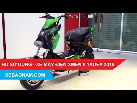 [Xebaonam.com] Hướng Dẫn Lắp Acquy Xe Máy điện XMen II Yadea 2015