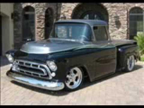 1957 Chevy Pickup Lowered Stepside