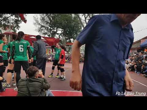 Chung kết nữ Hội làng Quan Độ   Ngân Hàng Công Thương vs VTV Bình Điền Long An