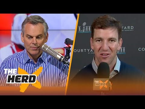 Eli Manning on what to expect from the Patriots and Eagles in Super Bowl LII | THE HERD