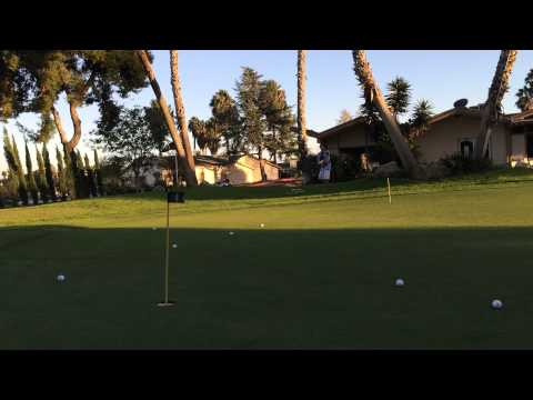 50ft chip shot at Oceanside Country Club
