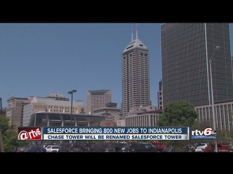 Salesforce bringing 800 new jobs to Indianapolis