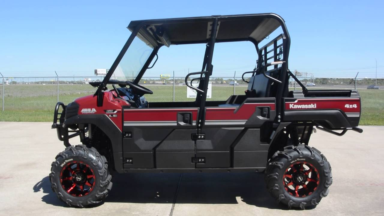 2016 Kawasaki Mule Pro Fxt Eps Le Custom Outfitted With Lift And