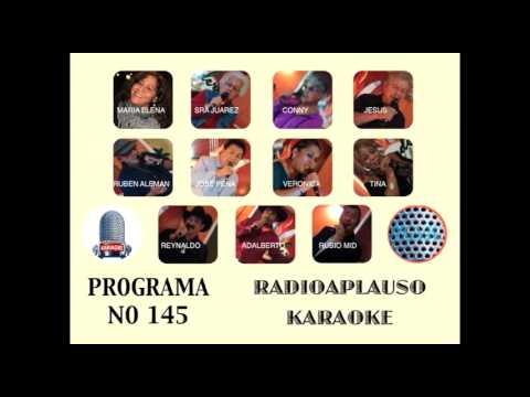 RadioAplauso Karaoke Programa NO 145