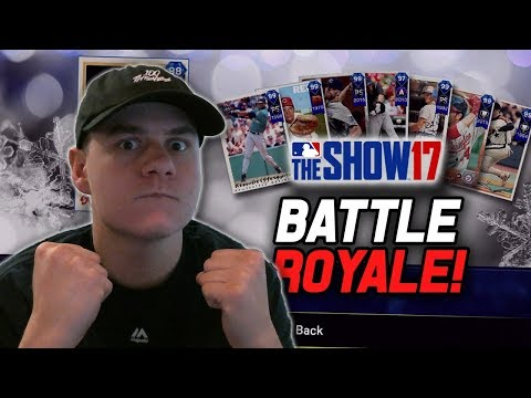 Drafting a New Squad! Let's go 12-0!   MLB The Show 17 Battle Royale